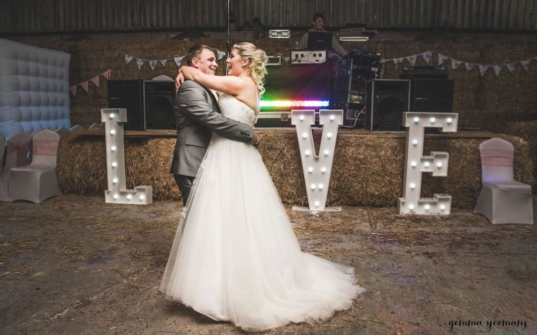 The stunning wedding of Bethan & Ashley at Thornsett Fields Farm
