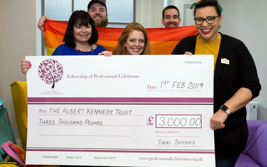 Fellowship of Professional Celebrants Support Charity